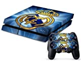 2612 Game Room® : Playstation 4 Vinyl Skin Console Skin & Remote Controllers Skin - Best Soccer Ball Real Team Sticker By Asia Trendy Shop