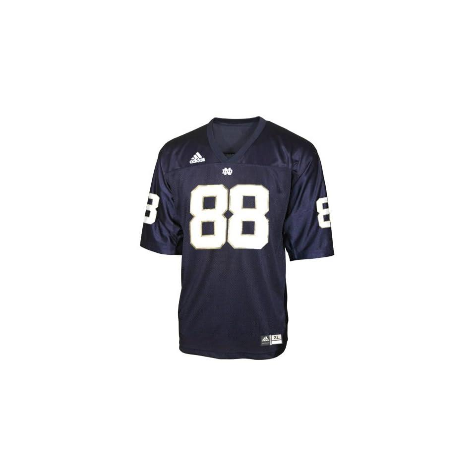 Adidas Notre Dame Fighting Irish #88 Navy Replica Football Jersey