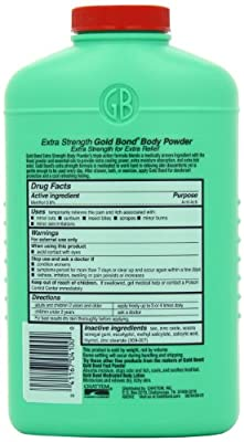 Gold Bond Powder, 10-Ounce Containers (Pack of 3)
