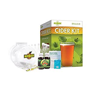 Mr. Beer Hard Cider Home Brewing Craft Cider Kit