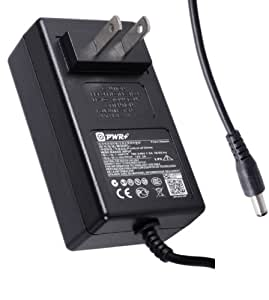 Pwr+ Extra Long 6.5 Ft AC Adapter 12V Rapid Charger for Western Digital Wd My Book External Hard Drive HDD Wd3200h1u-00 Wd5000c032 Wd25001032 Wd500h1u-00 Wd5000p032 Wd2500i032 Wd5000e032 Wd2500d032