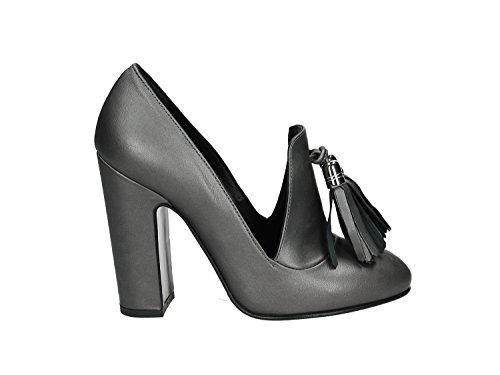 MARC ELLIS MOCASSINO TACCO DONNA [6054 NERO] - 38, NERO