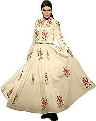 Zacqline farnaldiz Letest Dress Materials Sheetal (Unstitched )