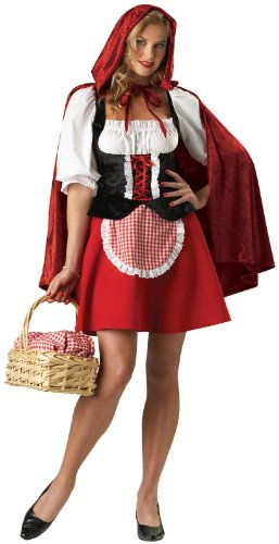 In Character Costumes - Red Riding Hood Elite Collection Adult Costume