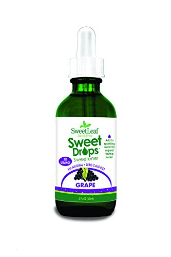 SweetLeaf Sweet Drops Liquid Stevia Sweetener, Grape, 2 Ounce (Grape Tea compare prices)
