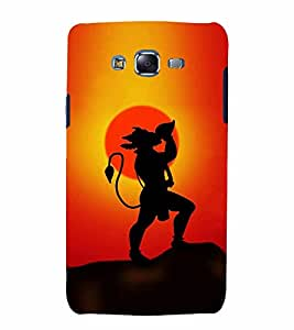 Lord Hanuman 3D Hard Polycarbonate Designer Back Case Cover for Samsung Galaxy J7 (2015) :: Samsung Galaxy J7 J700F (Old Version)
