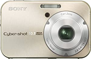 Sony Cybershot DSC-N2 10.1MP Digital Camera with  3x Optical Zoom