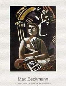 """Canvas picture on stretcher: Max Beckmann, """"Die Loge"""", 70 x 90"""