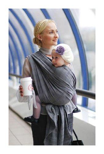 219365d6a53 Ellevill Wrap Baby Carrier - Jade Fog