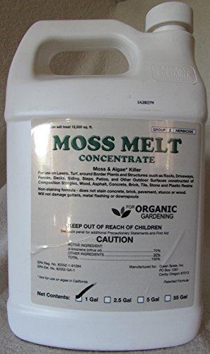 Moss Melt Organic Moss and Algae Treatment- 1 Gallon