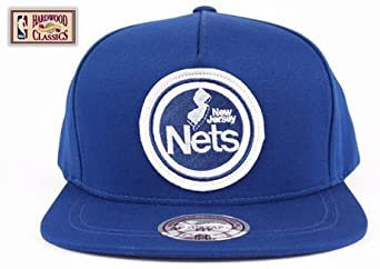 New Jersey Nets Mitchell & Ness Blue Hardwood Classics Novelty