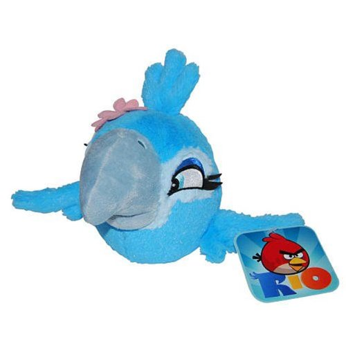 Imagen de Angry Birds RIO 8-Inch Bird Girl Jewel con sonido