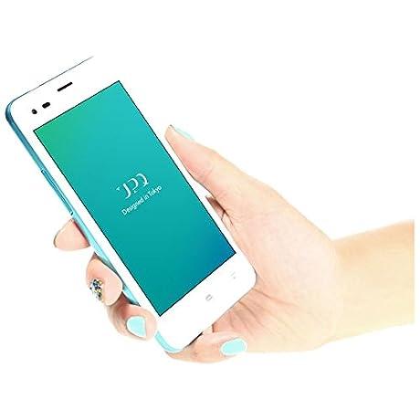 UPQ [LTE対応]SIMフリー Android 5.1スマートフォン 「UPQ Phone A01」4.5型(メモリ1GB・ストレージ8GB)ホワイト UPQPHONEA01WH