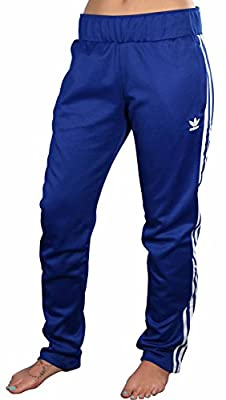 Adidas Originals Women's Europa Track Pants-CRoyal/White