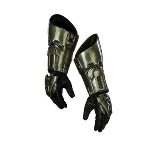ALL NEW Young Adult/Adult DELUXE Edition HALO 3 Costume Gloves