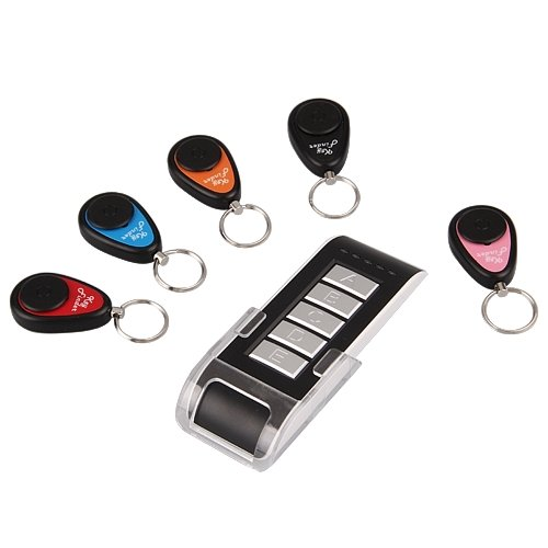 5 in 1 Wireless Lost Key Finder Locator Find Locater Alarm Keychain 40m