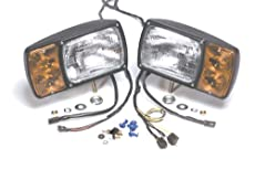 Grote Snowplow Lamp Kit with Four-Pole Retrofit Plug-In Harness 63401-4