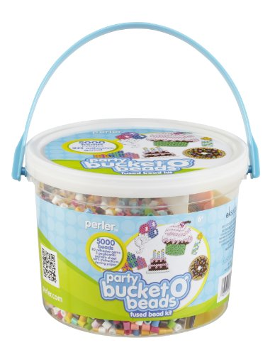 Perler Fused Bead Kit, Party Bucket o' Beads