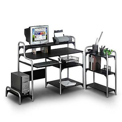 Buy Low Price Comfortable Ameriwood Overton Modern Workstation Computer Desk – 15096 (B0043CAU9W)