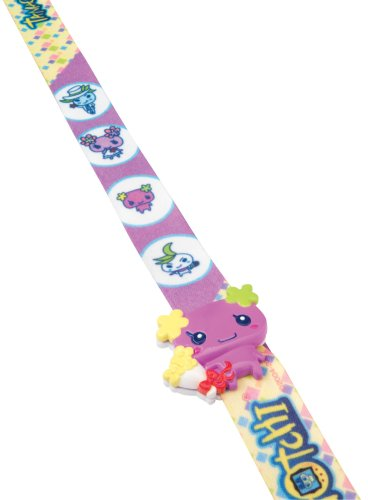 Tamagotchi Connection V5 Tamagotchi Lanyard- TamaLeash Viole Family