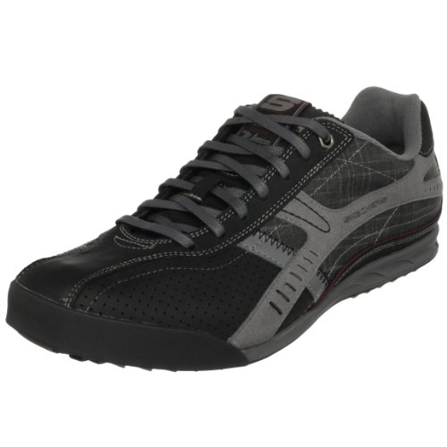 Skechers Men's Ascoli Marche Sneaker Black UK 5.5