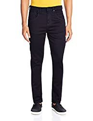 Cherokee Men's Tapered Fit Jeans (8907242994222_267695518_32W x 32L_Navy)