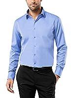 Vincenzo Boretti Camisa Hombre (Azul)