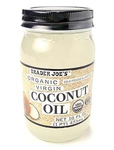 Trader Joe's Organic Virgin Coconut Oil, 16 fl oz
