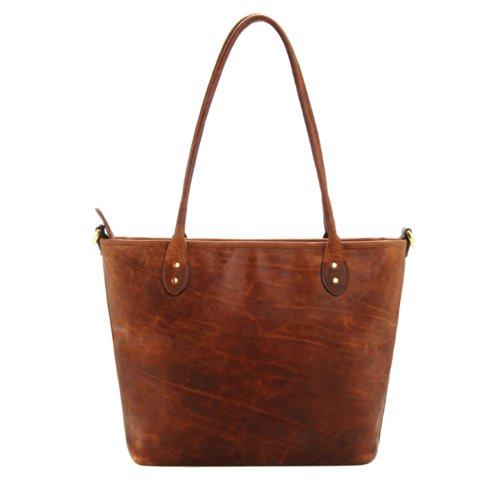 ONA The Capri Leather Camera Tote Bag - Antique Cognac