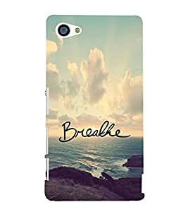 Fuson Premium Printed Hard Plastic Back Case Cover for Sony Xperia Z5 Compact