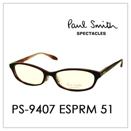 PAUL SMITH ポールスミス  メガネフレーム サングラス 伊達メガネ 眼鏡 PS-9407 SYPLG 51 PAUL SMITH専用ケース付 スペクタクルズ