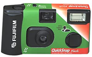 Fujifilm QuickSnap Flash 800 35mm Single Use Camera with Flash