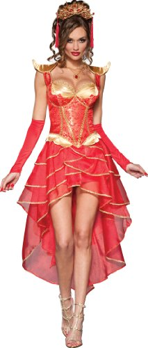 InCharacter Costumes Dragon Lady, Red/Gold, Small
