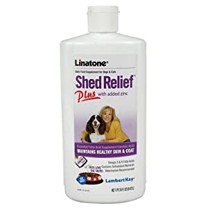 Linatone Shed Relief Plus with Zinc - 16 ounces