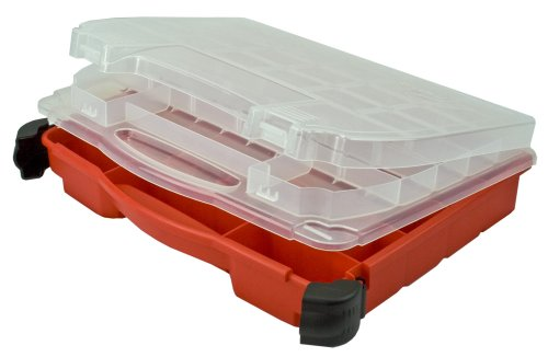 Plano Molding 5231 Double Cover Stow N Go Organizer, Porche Red