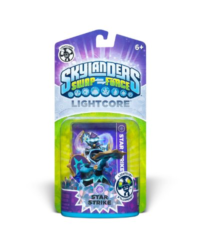Skylanders SWAP Force Lightcore Individual Character Pack- Star Strike