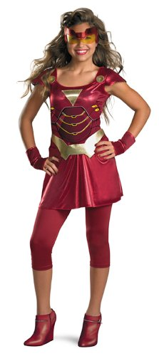 Iron Man Iron Girl Child Costume Size 7-8 Medium
