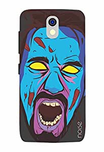 Noise Haunted-Blue Printed Cover for HTC 526G