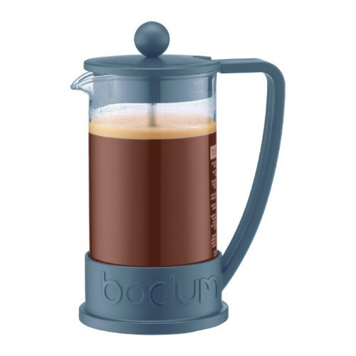 Bodum Brazil 3-Cup French Press Coffee Maker 12-oz Black 1094801BUS