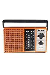 Vemax Magnum 3-Band (Fm/Am/Mw) Portable Radio (Black & Copper)