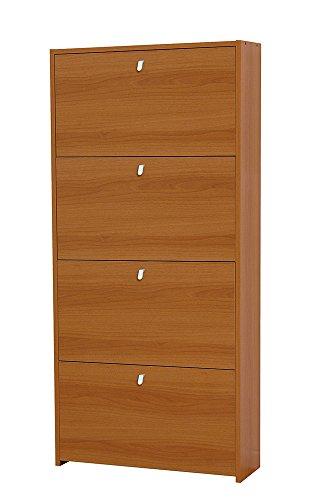VALENTINI - Scarpiera doppia profondità noce madera noce madera 954277 L67h143p22cm