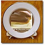 Chocolate Éclair - 8 Inch Porcelain Plate