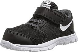 Nike Baby Boy\'s Flex Supreme TR 4 Athletic Shoe (6 TODDLER M , Black/Dark Grey/White)