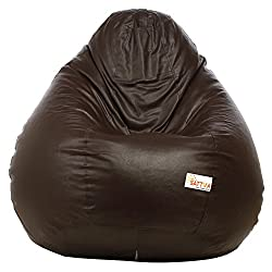 Excel Bean Bags Sattva XXXL Bean Bag without Beans (Brown)