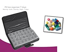 Milex Pill Box Organiser 7 Days Lined