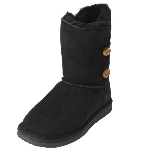 Brumby Womens Sheepskin Lined Suede Boot
