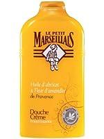 Le Petit Marseillais - Douche Crème Nourrissante / Abricot & Fleur D'Amandier de Provence - 250 ml - Lot de 2