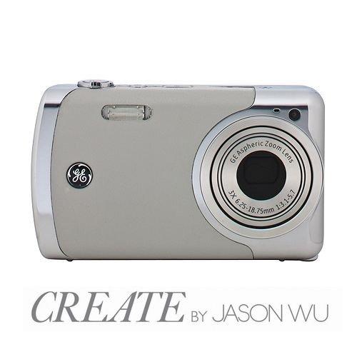 GE CREATE By Jason Wu Digital Camera (12MP, 3 x Zoom, 2.7-inch LCD Li-ion)