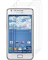3x film de protection pour écran MAT et ANTI-REFLETS avec effet anti-traces de doigts pour Samsung Galaxy S2 i9100. QUALITÉ SUPÉRIEURE signée kwmobile