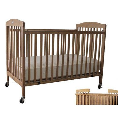 Full Folding Crib Finish: Cherry front-944844